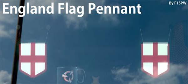 England flag Pennant