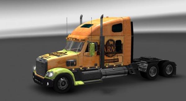 Freightliner Coronado Farma Skin