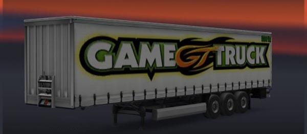 Games Truck Trailer Skin