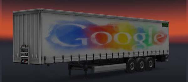 Google Trailer Skin