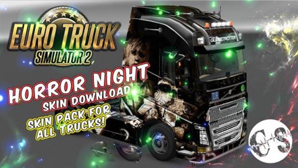 Horror Night Skin Pack for All Trucks