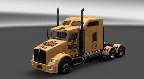 Kenworth T800 Farma Skin