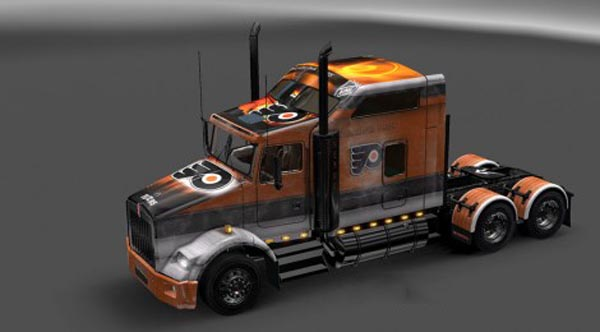Kenworth T800 Philadephia Flyers Skin