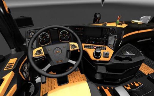 Mercedes 2014-2015 Interior