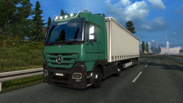 Mercedes Benz Actros MP3 V6 & V8 Sound mod