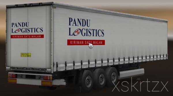 Pandu Logistics Indonesia Trailer