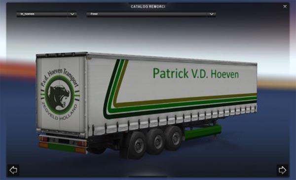 Patrick V.D. Hoeven Trailer