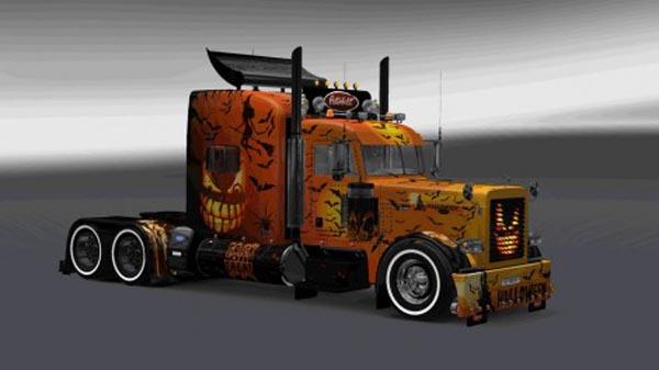 Peterbilt 389 Halloween Skin