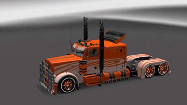 Peterbilt 389 Metal Multicolor Skin