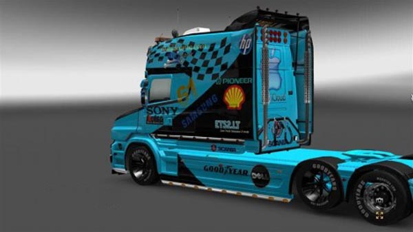 Racing Skin for Scania T Series Truck