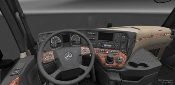 Realistic New Actros Interior