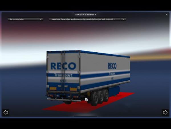 Reco Transport VTC Trailer