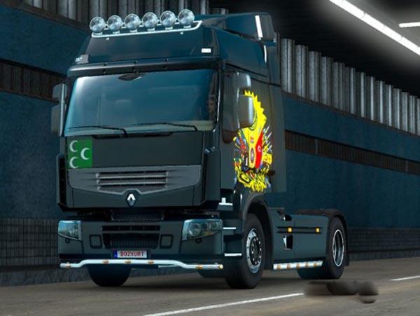 Renault Premium Ottoman Empire Skin