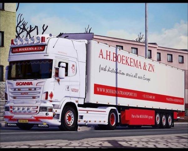 Scania Boekema Holland