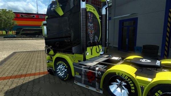 Scania Devil Skin