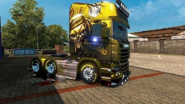 Scania Evil Skin