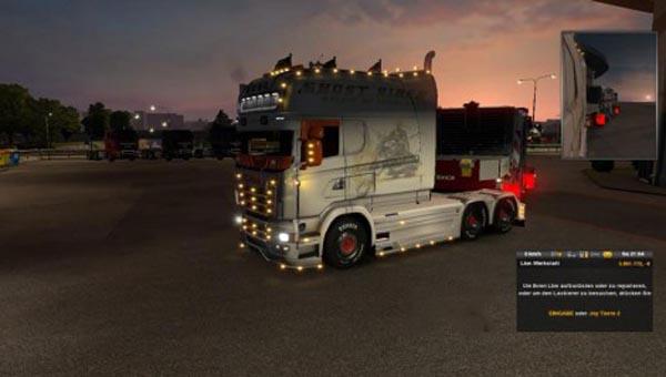 Scania Longliner Ghostrider Skin