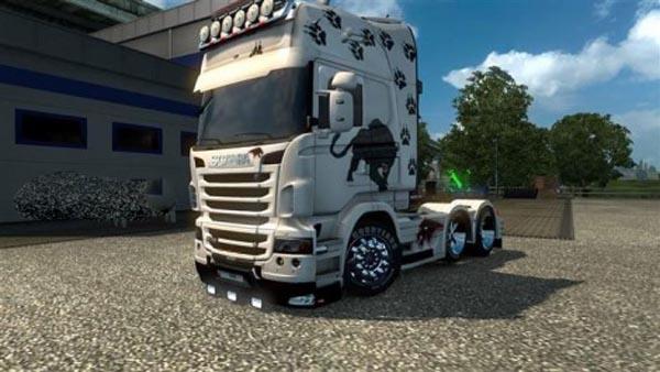 Scania Panther skin