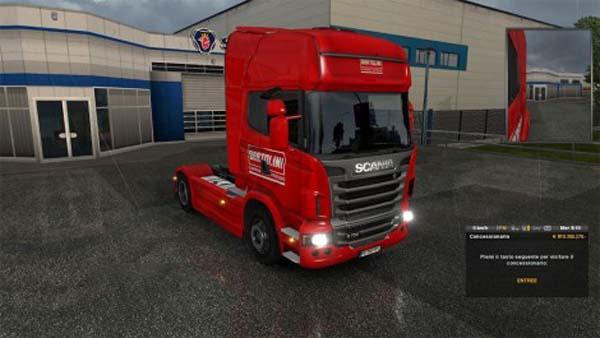 Scania R Skin Bartolini