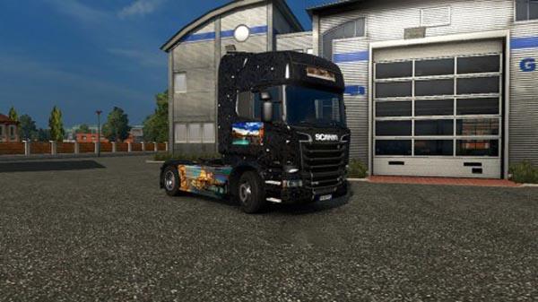 Scania R Streamline Venice Skin
