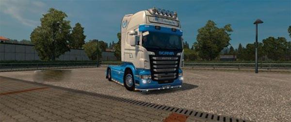 Scania RJL AC Transports Skin