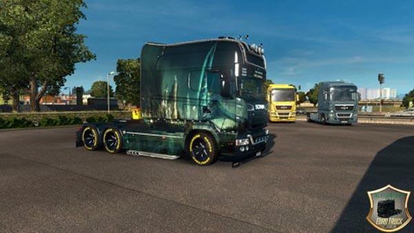 Scania RJL Longline City Skin