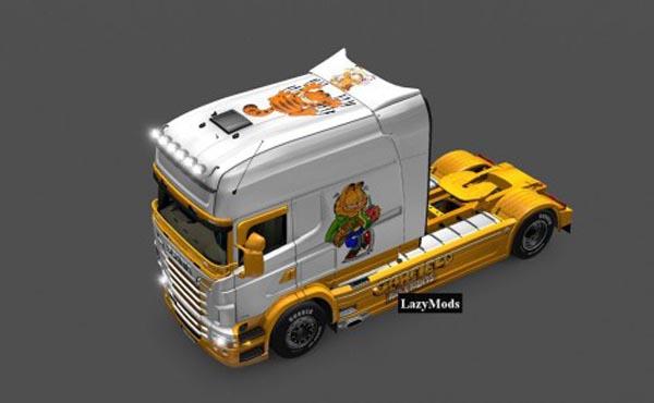 Scania RJL Longline Garfield Skin