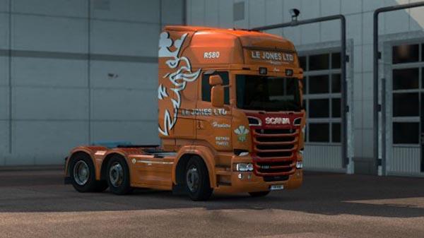 Scania RJL Topline Le Jones Skin