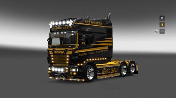 Scania RS RJL Ageratus Company Skin