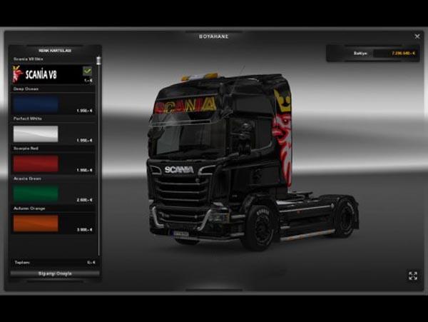 Scania Streamline V8 Skin