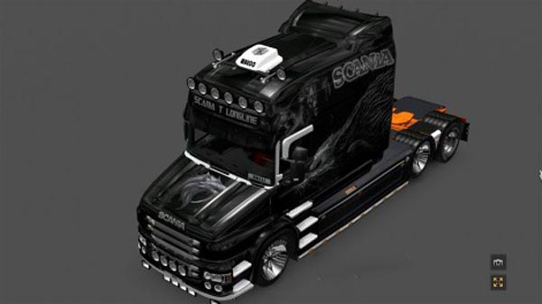 Scania T Series Breed Skin