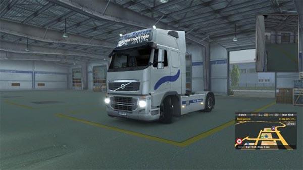 Scania and Volvo Frigo express Skin pack