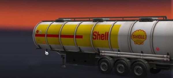 Shell Tank Trailer