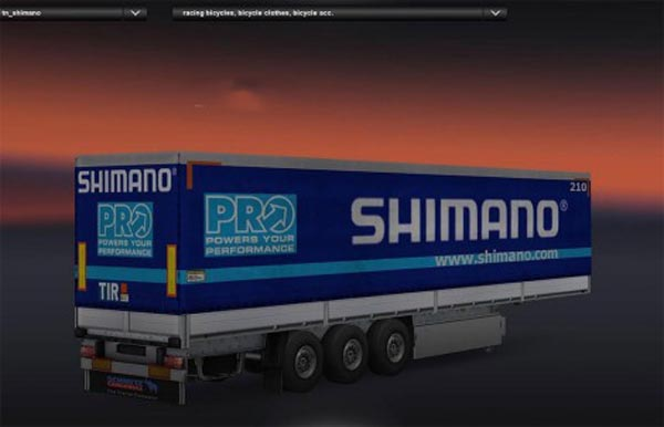 Shimano Bicycle Parts Trailer