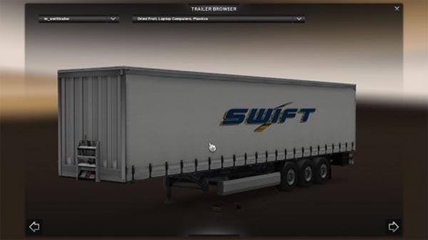 Swift Transportation Trailer
