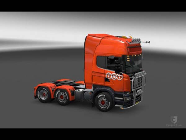 TNT Skin for Scania Trucks
