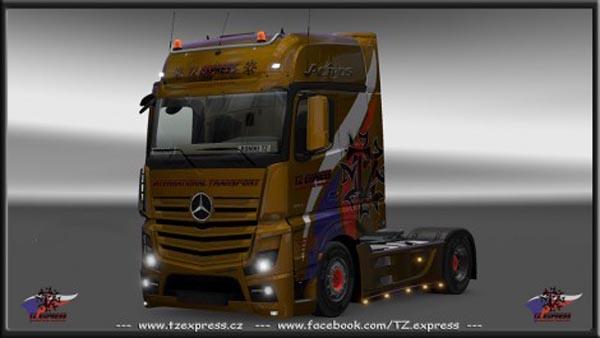 TZ Mercedes Benz MP4 reworked 1.21.1