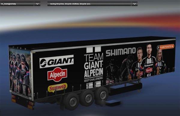 Team Giant Alpecin Profiliner Trailer