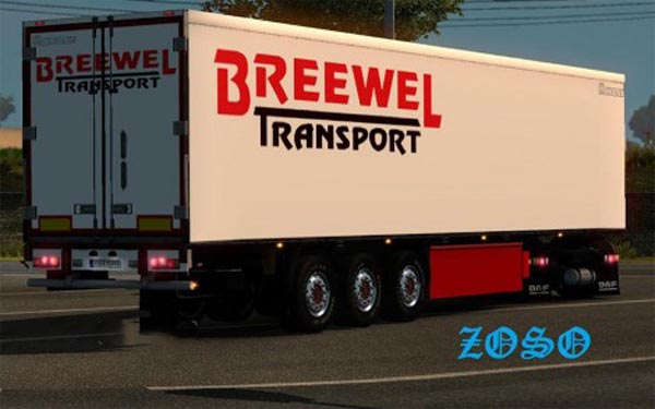 Trailer Breewel transport