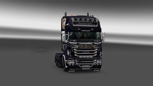 Trans Europe Logistics skin