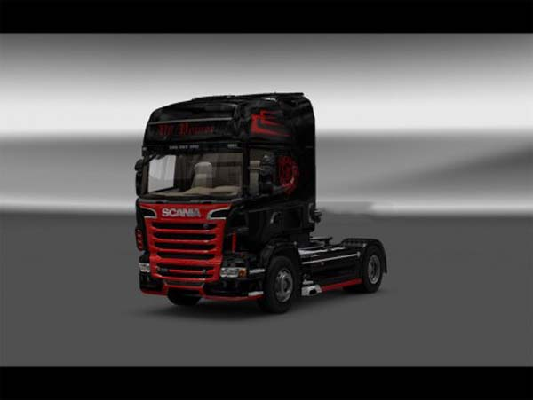V8 Power skin