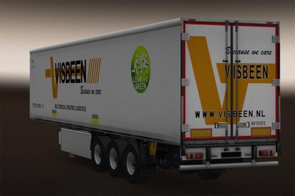 Visbeen trailer