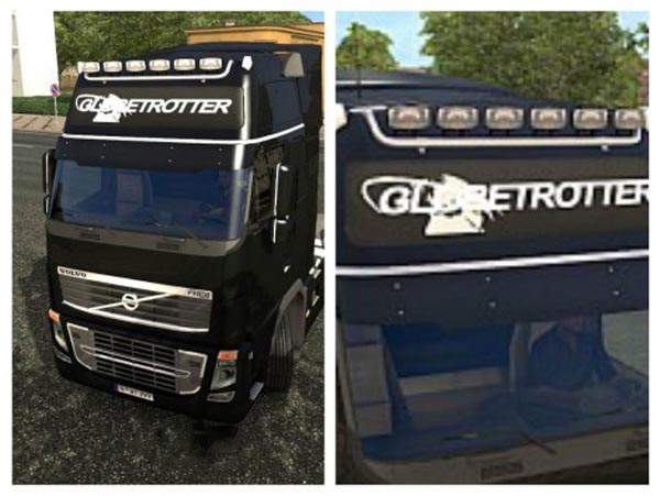 Volvo 2009 New Lightbox Decal