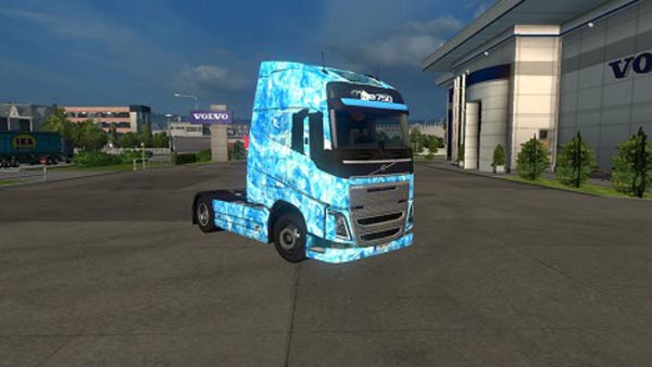 Volvo FH16 2012 Ice Skin