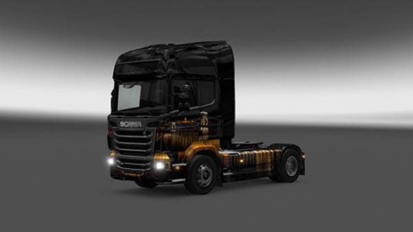 Budapest Night Skin for all Trucks