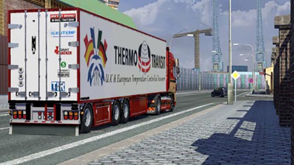 Chereau Thermo Transit Trailer