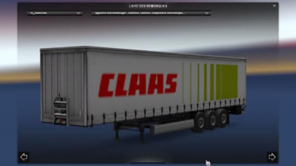 Claas Trailer