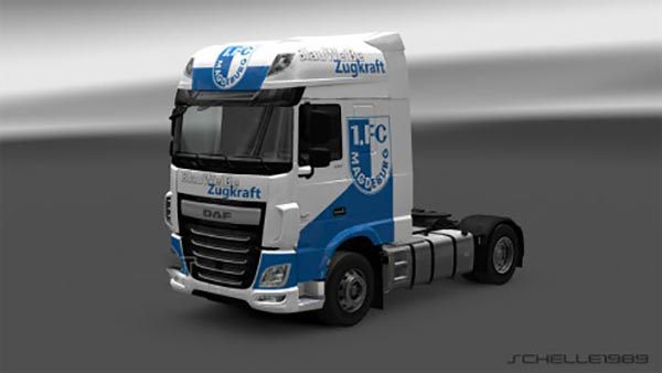 DAF XF Euro 6 FC Magdeburg Skin