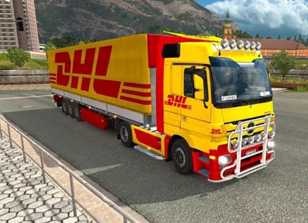 DHL pack for Mercedes Actros