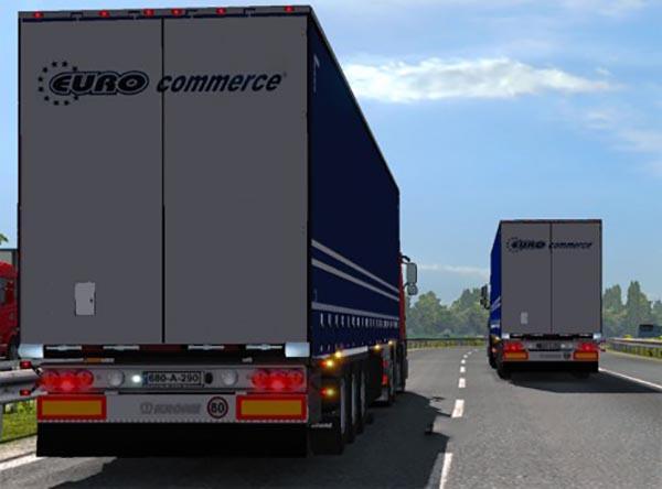 Euro Commerce Trailer